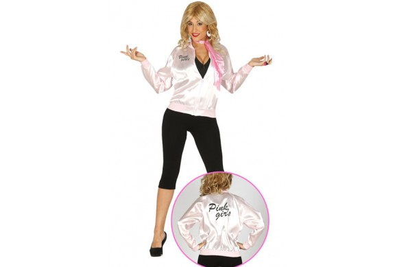 CHAQUETA PINK GIRL GREASE