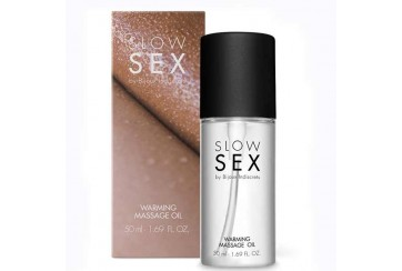 ACEITE MASAJE CALOR - SLOW SEX