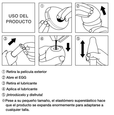 instrucciones huevos tenga