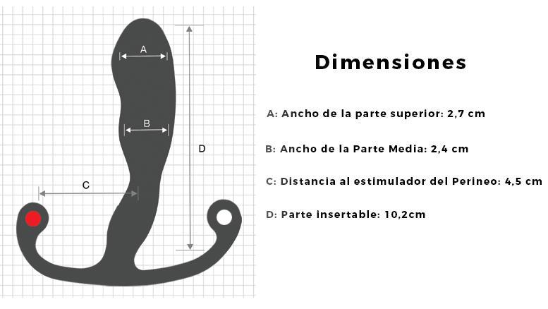 dimensiones estimulador para principiantes